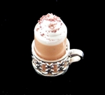 Gourmet Hot Chocolate <br/>(glass and silver holder)